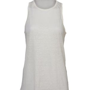 Linen muscle tank forever 21 bnwt size S